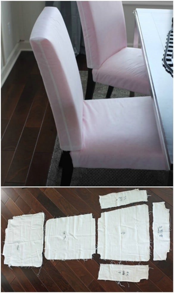 Terrific 20 Easy To Make Diy Slipcovers That Add New Style To Old Ocoug Best Dining Table And Chair Ideas Images Ocougorg