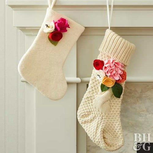 Easy To Make Fabric Stockings