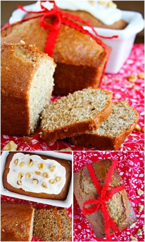 Homemade Mini Gingerbread Loaves