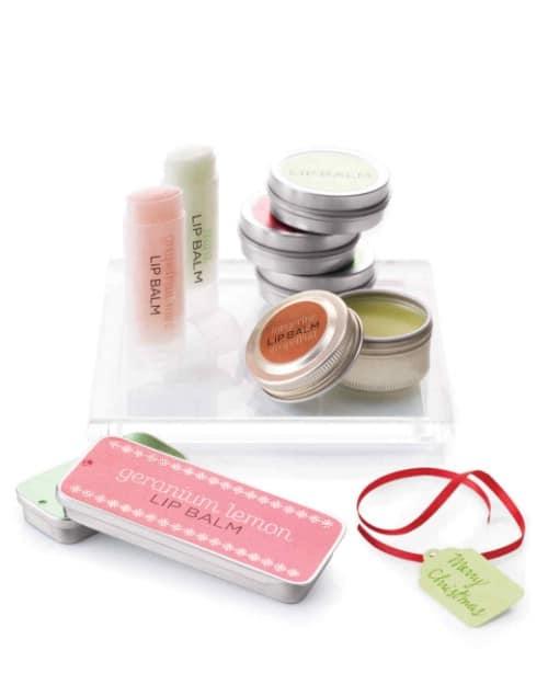 Spa Inspired DIY Lip Balms