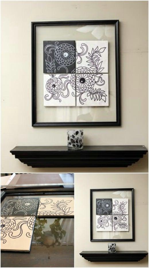 Gorgeous DIY Tile Art