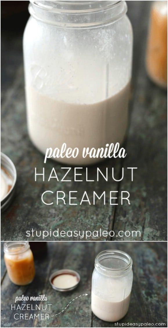 DIY Hazelnut Coffee Creamer