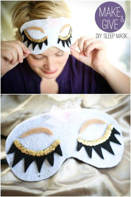 Homemade Sleep Mask