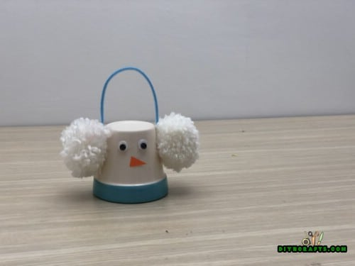 Earmuff Snowman - 5 Creative Snowman Crafts You Can DO In Under Three Minutes