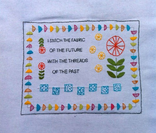 Beginner Mod Embroidery Sampler Pattern