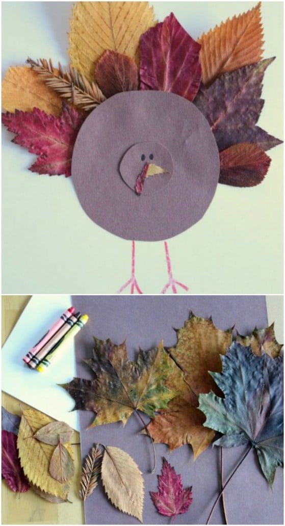 Easy DIY Paper Plate Turkey