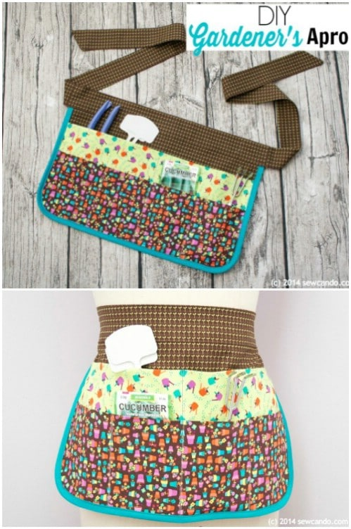 Easy To Sew Gardening Apron