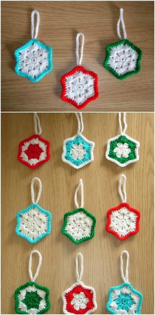 Super Easy Crochet Snowflake