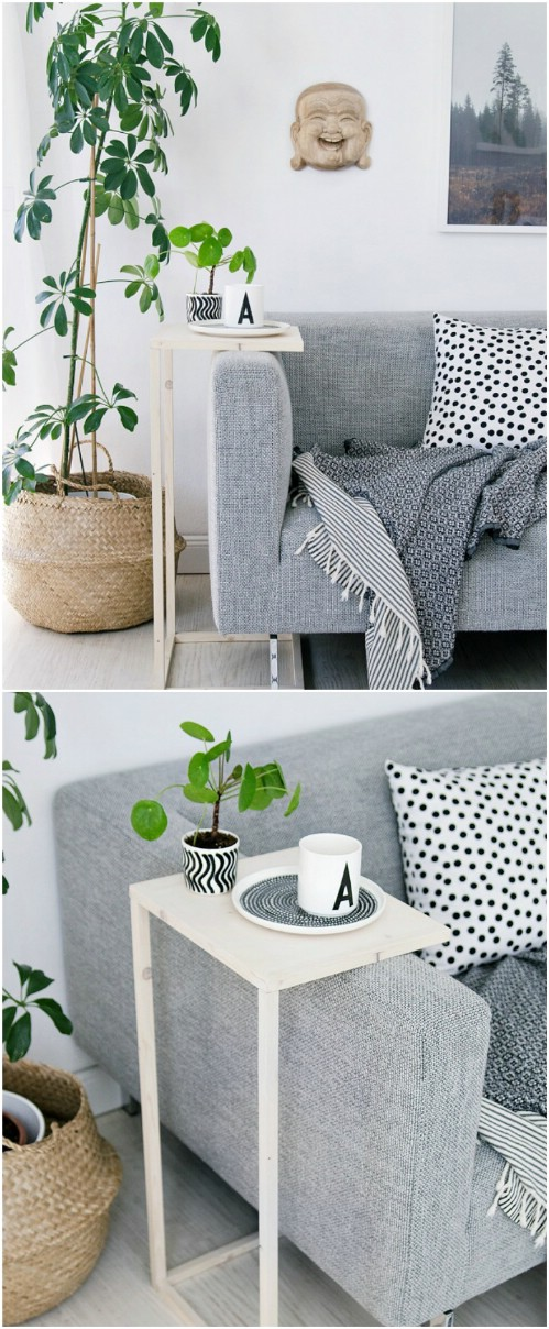 Astounding 18 Stylish Diy Accent Tables That Will Add Beauty To Any Ibusinesslaw Wood Chair Design Ideas Ibusinesslaworg