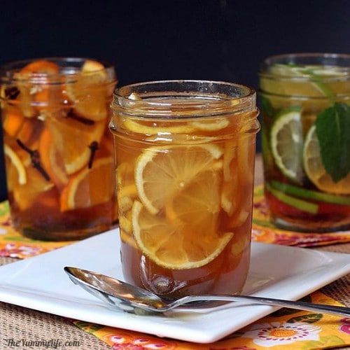 Natural Honey Citrus Syrup