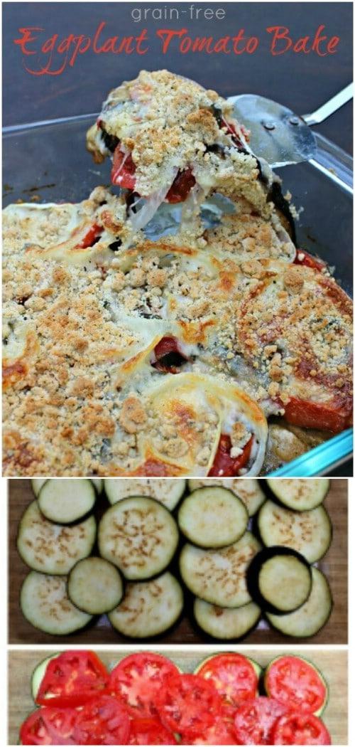 Eggplant Tomato Bake