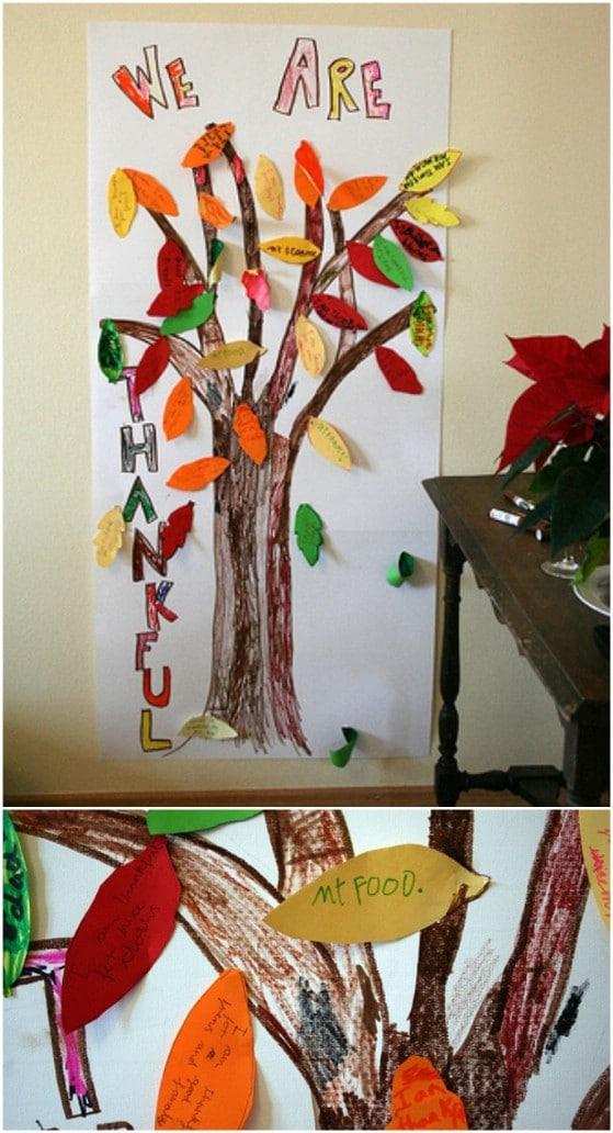 Thankful Thanksgiving Tree