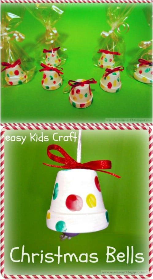 Adorable DIY Christmas Bells