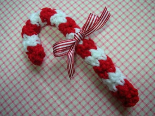 Crochet Candy Canes