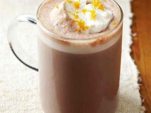 Orange Spice Hot Chocolate