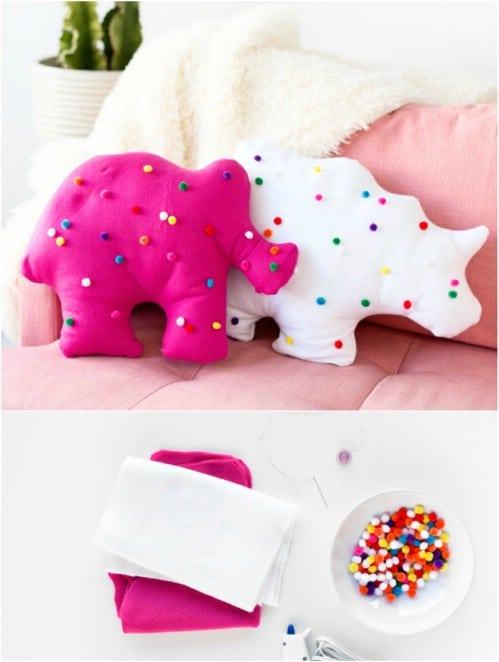 DIY Animal Shaped Pillows