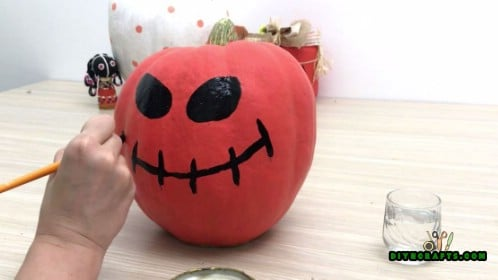 Painted Pumpkin Tutorial