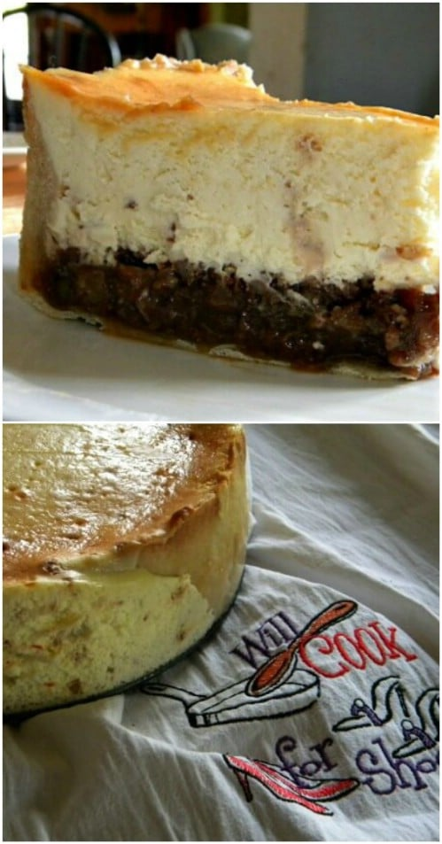 Delicious Homemade Hot Buttered Rum Cheesecake