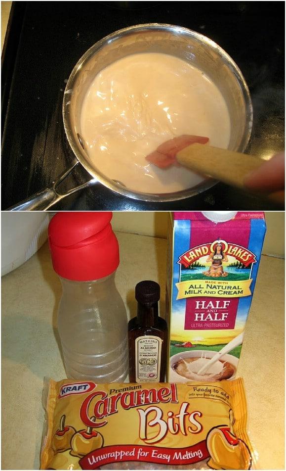 Easy DIY Caramel Macchiato Creamer