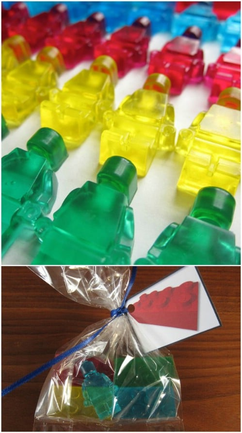 Homemade Lego Soap