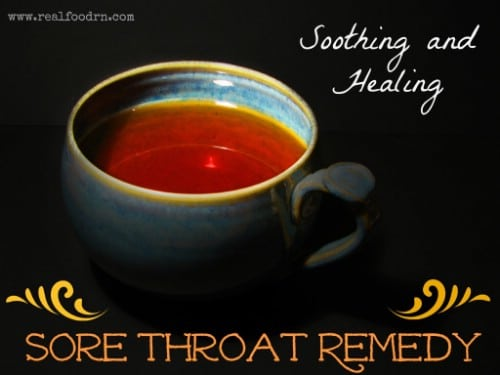 Healing Sore Throat Remedy
