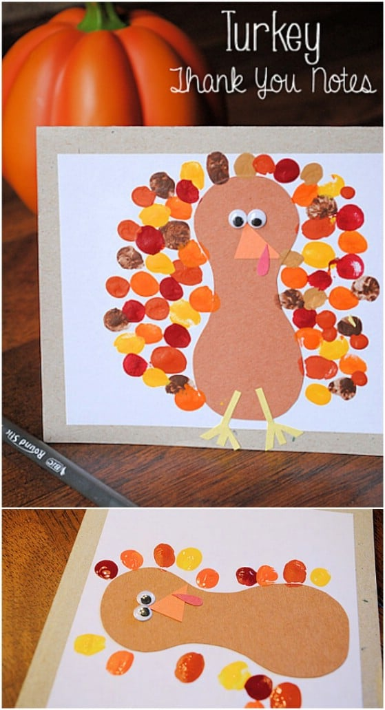 Turkey Thank You Cards