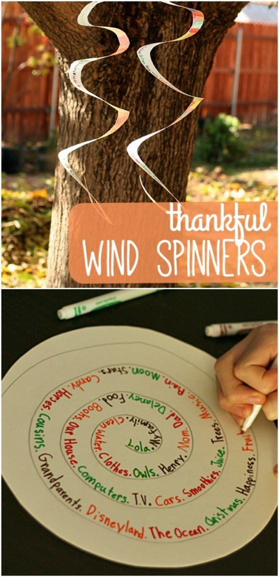 Thankful Wind Spinners