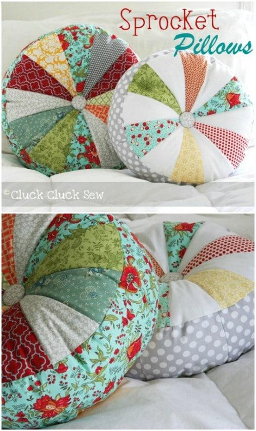 DIY Sprocket Pillow
