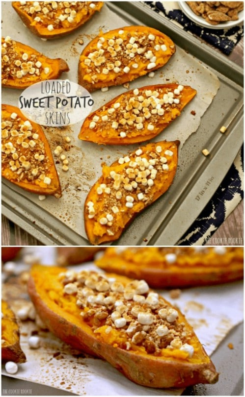 Loaded Sweet Potato Skins