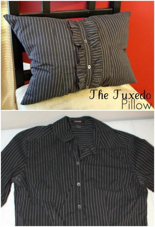 Tuxedo Throw Pillow