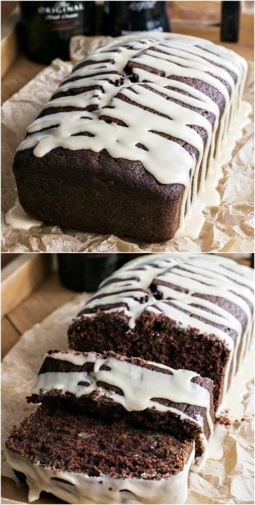 Bailey's Dark Chocolate Bread