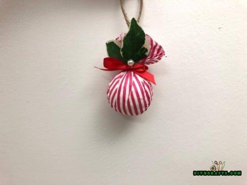 DIY Christmas Tissue Paper Ornament