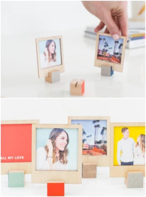 DIY Wooden Picture Displays