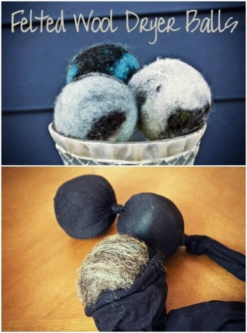 Easy DIY Wool Dryer Balls