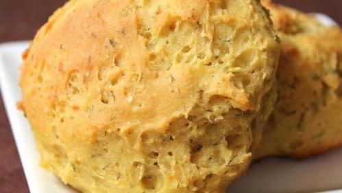 Gluten Free Garlic Dinner Rolls
