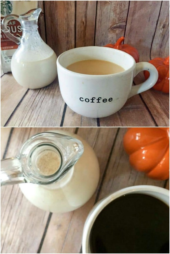 DIY Autumn Spice Coffee Creamer