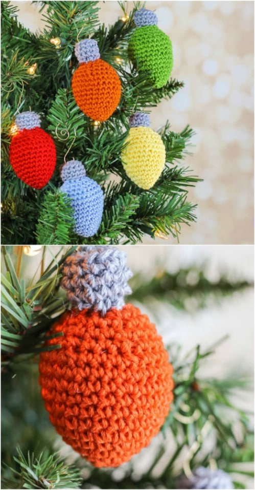 Crochet Christmas Lights