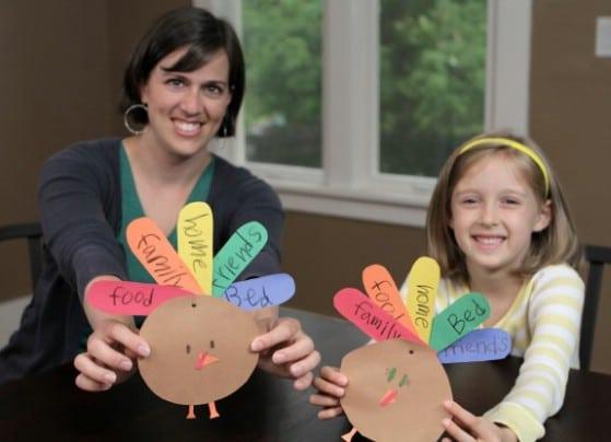 Easy DIY Thankful Turkeys