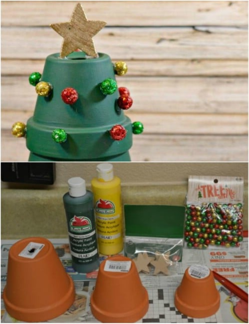 Polymer Clay Christmas Village.20 Diy Clay Pot Christmas Decorations That Add Charm To Your