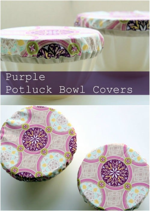 Easy Potluck Bowl Cover