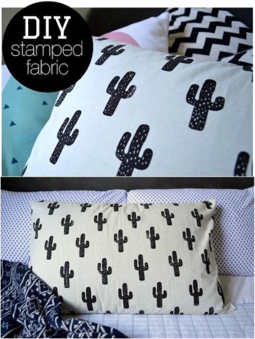 Easy DIY Cactus Pillow