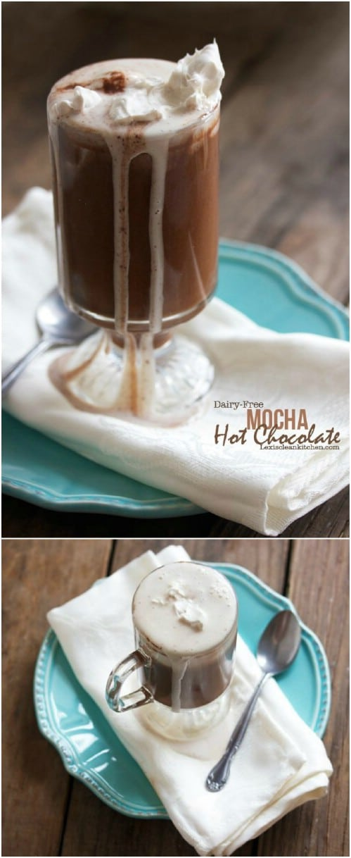 Dairy Free Mocha Hot Chocolate