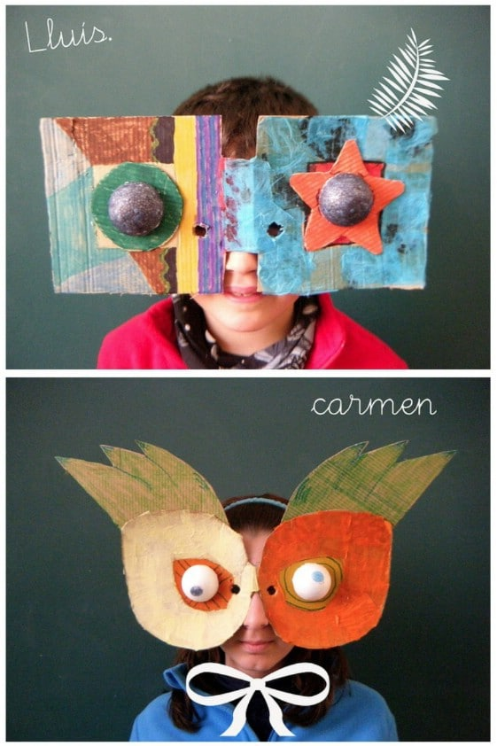 Easy And Festive Carnavale Masks