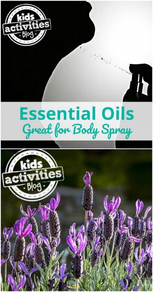 Essential Oil Body Spray