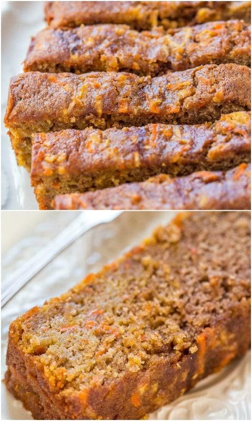 Homemade Carrot Apple Bread