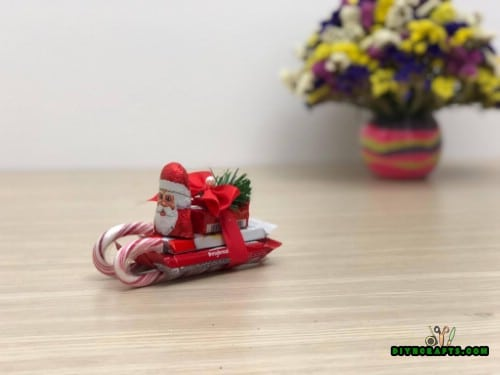 Candy Sleigh - 5 Candy Cane Projects for a Deliciously Festive Christmas