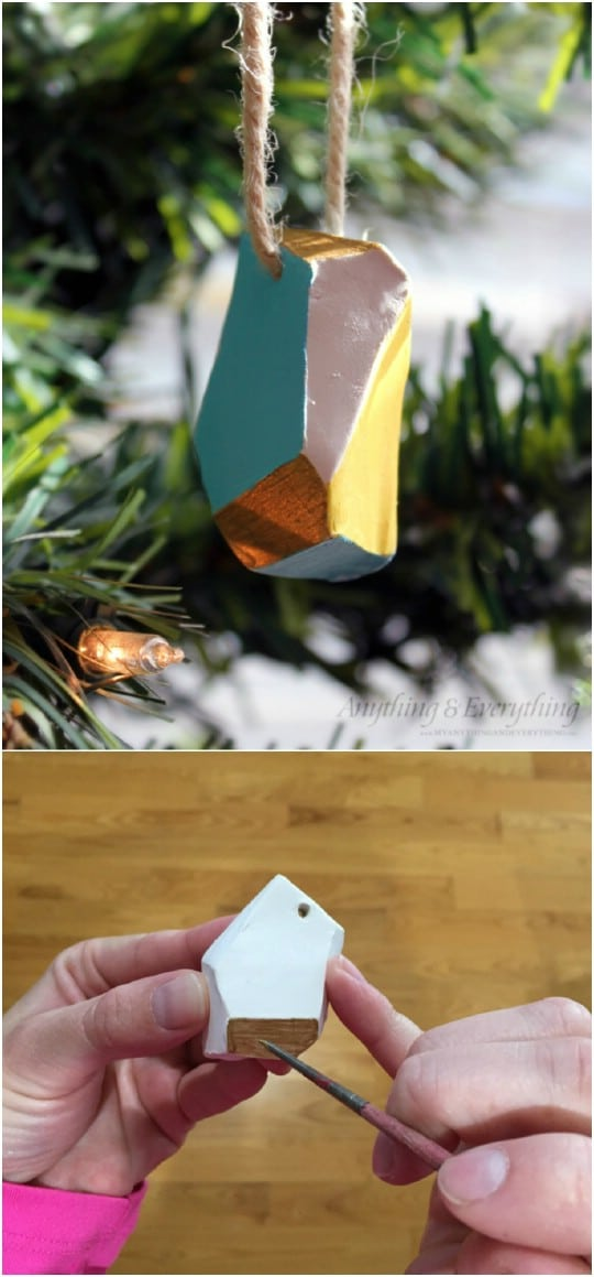Clay Essential Oil Ornaments