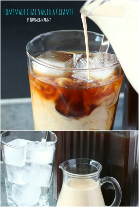 Homemade Vanilla Chai Coffee Creamer