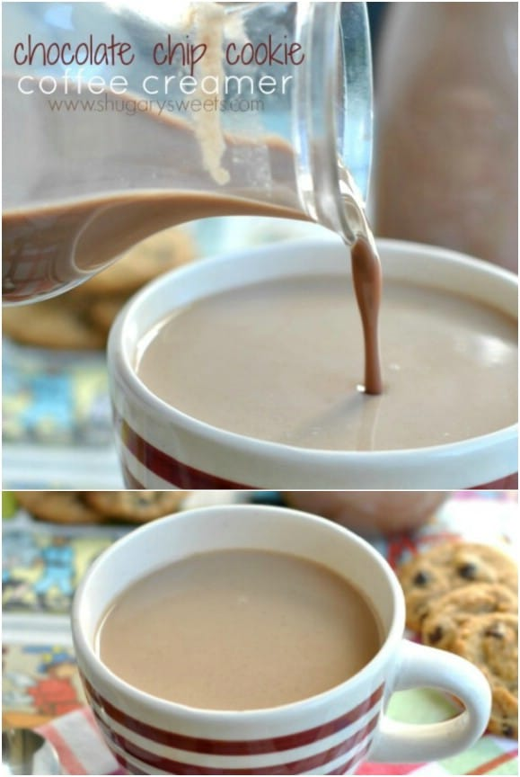 Chocolate Chip Cookie Coffee Creamer