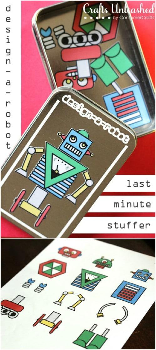 Design A Robot Tin